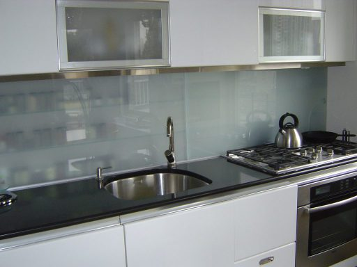 Sliding Glass storage back splash 512