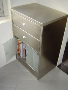 Custom stainless steel cabinet 225
