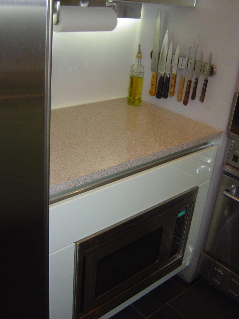 West End Microwave Counter 768